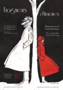 Affiche de l'exposition Fragments d'histoires (2014)