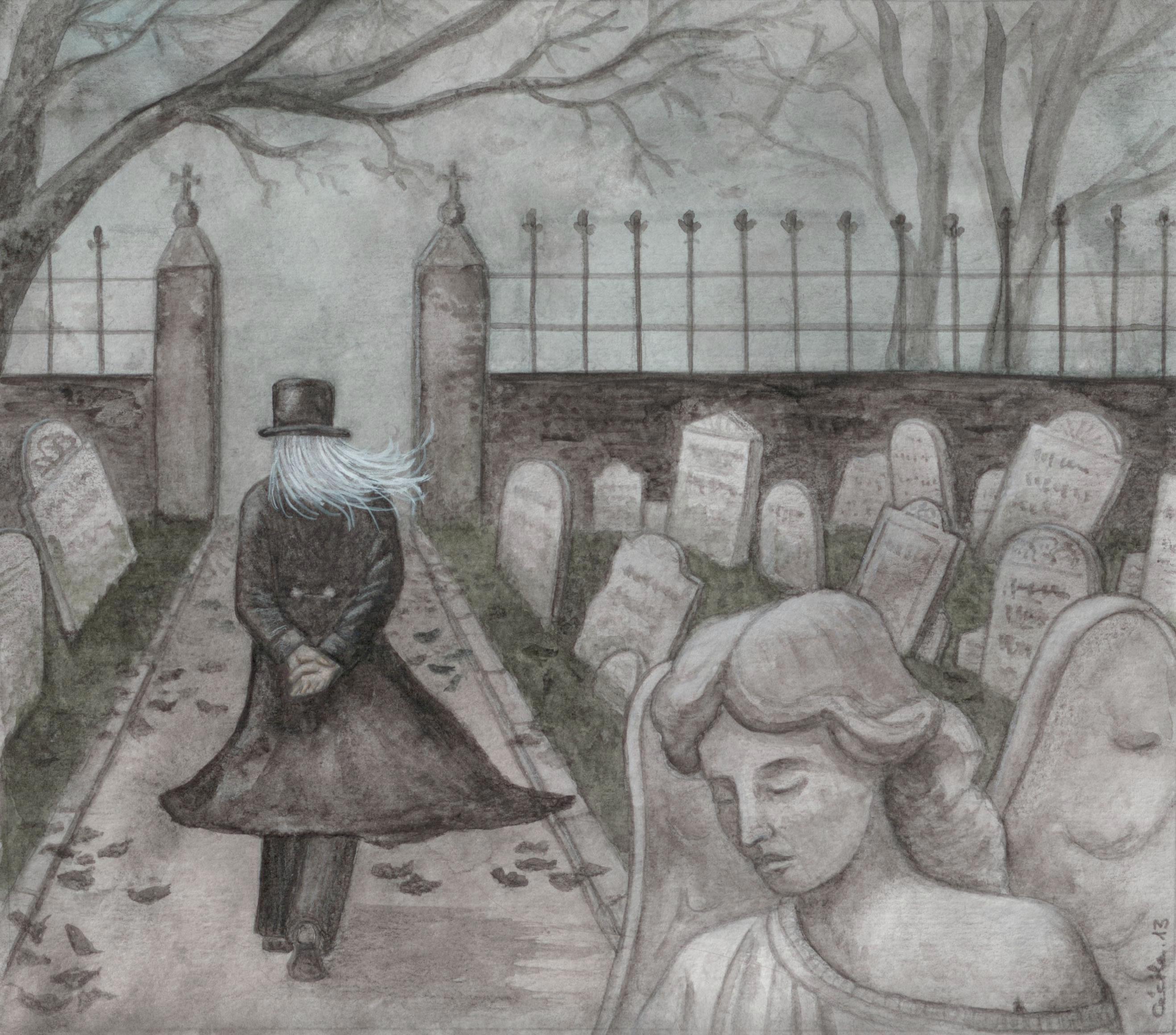 Shadow Boy and the Little Match Girl, de C. Allegra Hawksmoor (2013)