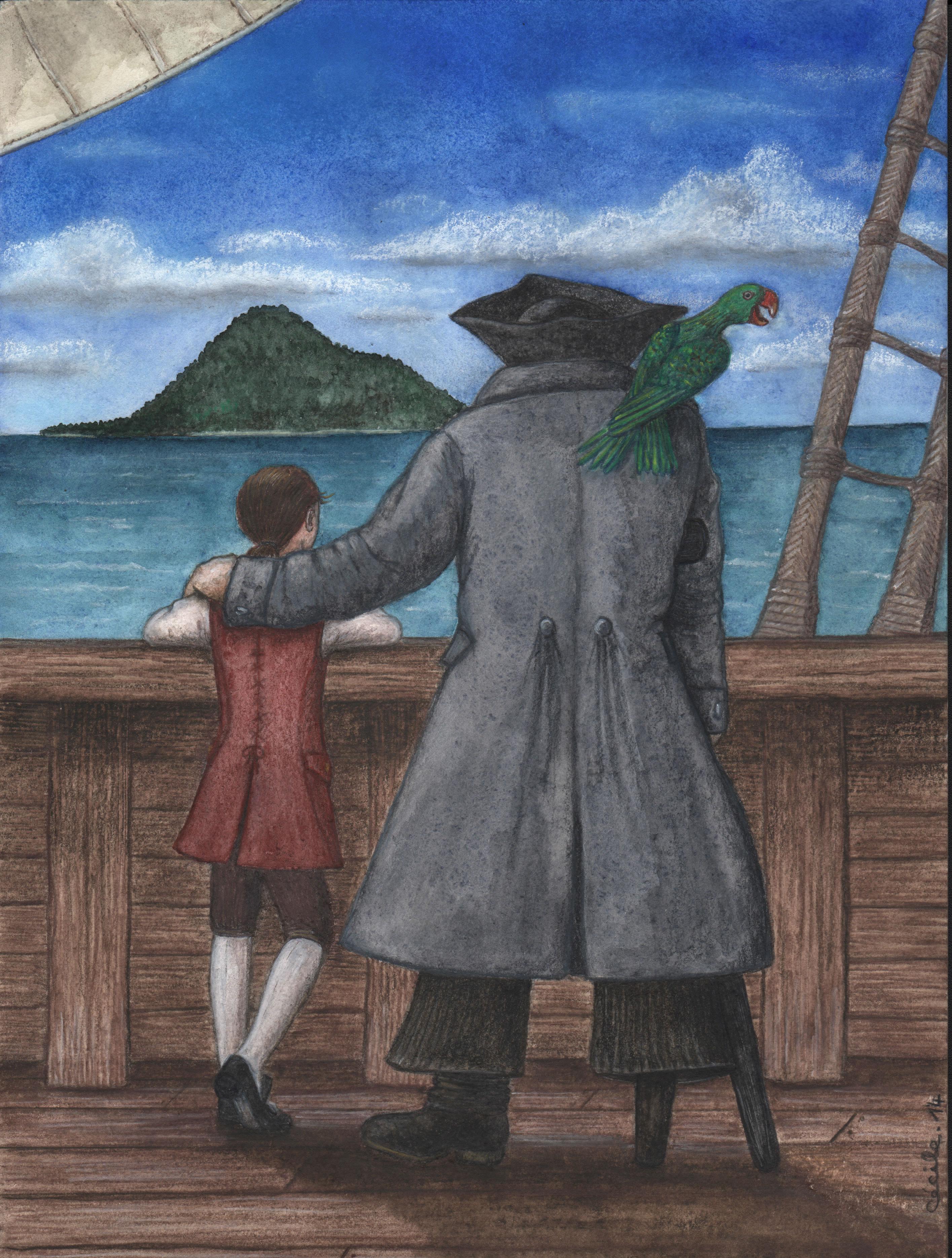 L'Île au trésor, de Robert Louis Stevenson (2014)